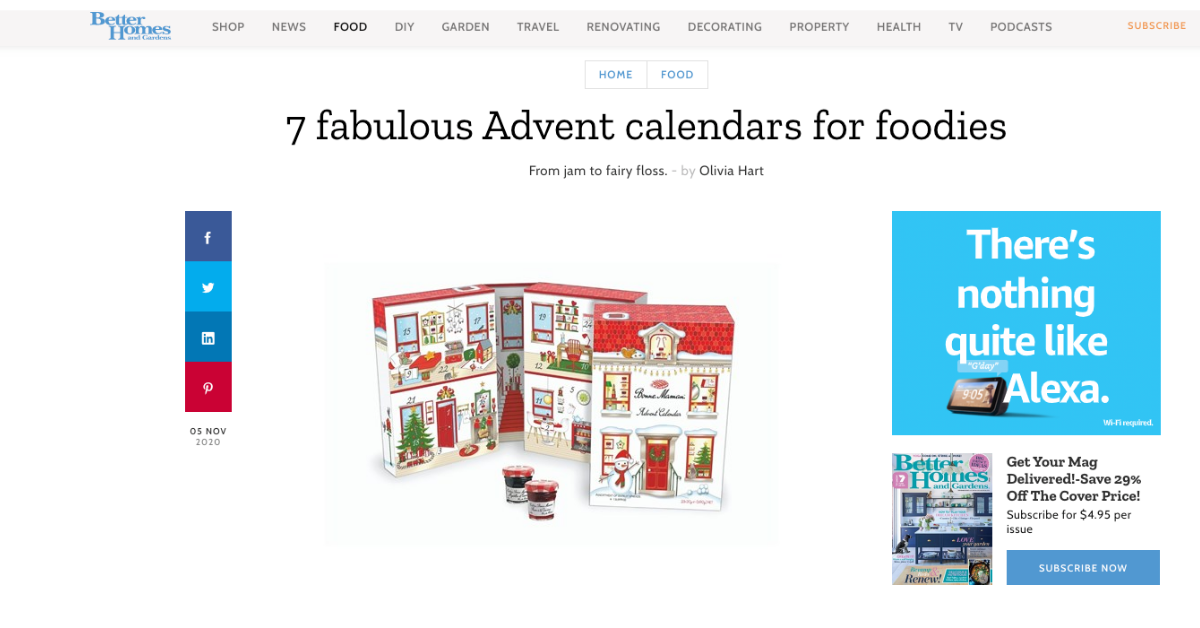 Advent Calendars For Foodies - Better Homes and Gardens Fluffy Crunch Fairy Floss
