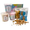Crackle Popcorn & Fairy Floss Gift Box By Fluffy Crunch