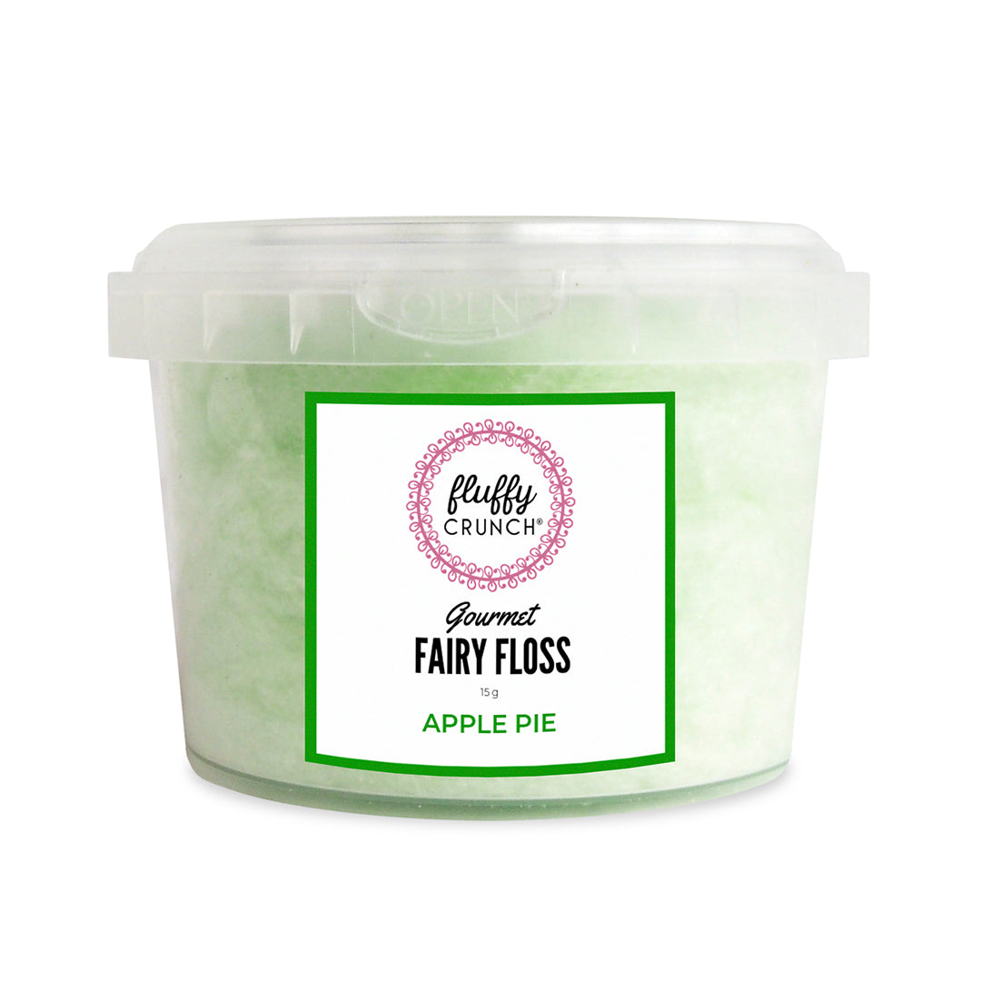 Apple Pie -  Fluffy Crunch Fairy Floss | Party Favours - Personalisation & Customisation