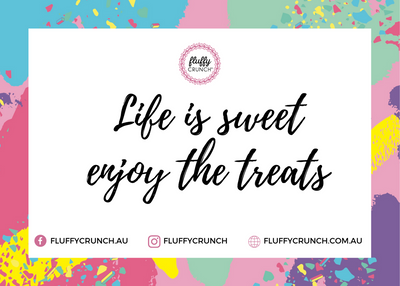 Fluffy Crunch Gift Card Fairy Floss