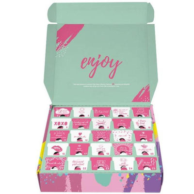 Christmas Advent Calendar 2020 | Fluffy Crunch Fairy Floss Countdown Box