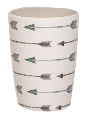 MAE-YG005 4 Pack Tumblers - Arrows and Feathers