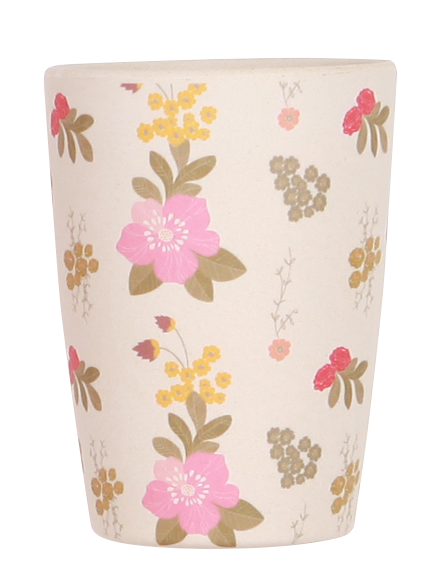 4 Pack Tumblers - Floral and Pink