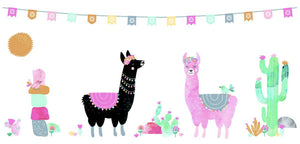 MAE-SF042 Small Wall Decal - Llamarama