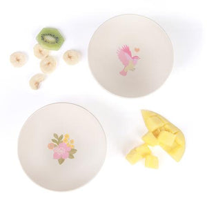 4 pk Bowls - Birds and Flowers