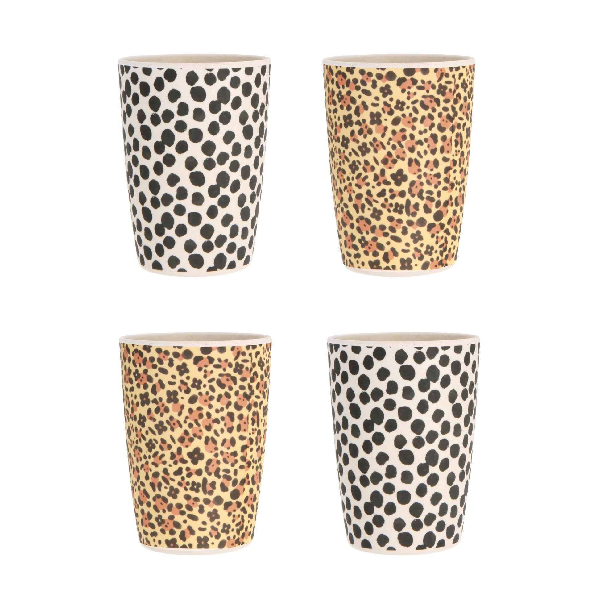 4pk Tumblers Jaguar and Jungle Spot
