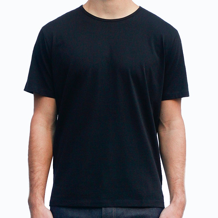 Men's Black T-Shirts Short Sleeve