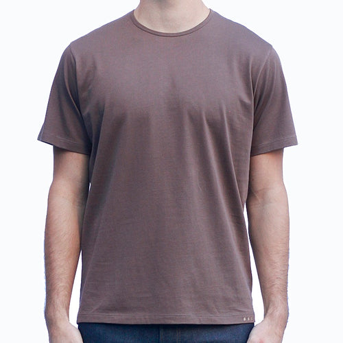 Men's Brown T-Shirts Short Sleeve