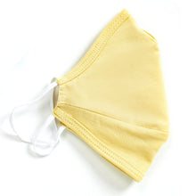 Load image into Gallery viewer, LIGHT YELLOW | Face Mask 100% Pima Cotton