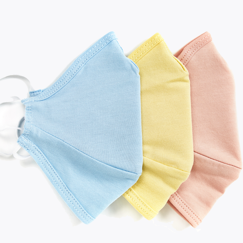 3-PACK BUNDLE | Face Masks 100% Pima Cotton