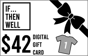 $42 Digital Gift Card Equals Cost of One T-Shirt Shipped Anywhere in the United States