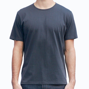 Men's Dark Gray T-shirts Short Sleeve