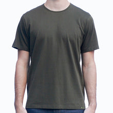 Load image into Gallery viewer, Men's Dark Green T-shirts Short Sleeve