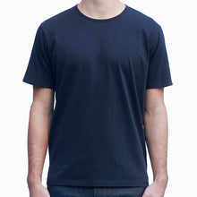Load image into Gallery viewer, Men's Dark Navy T-shirts Short Sleeve