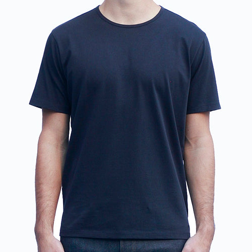Men's Dark Navy T-shirts Short Sleeve