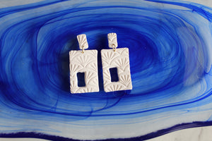 """Berkley"" Square Dangles"