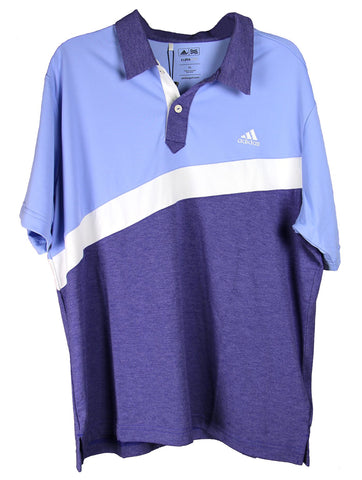 Adidas Junior's Climalite Angular Color Blocked Polo