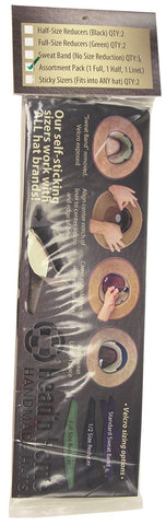 Head 'N Home Hats Perfect Fit Sizing Inserts Assortment Pack