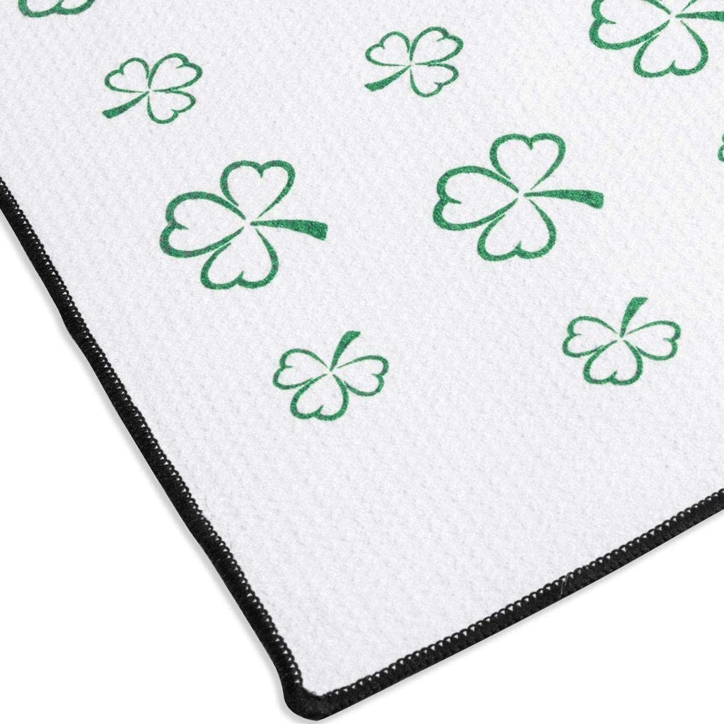 Titleist St. Patrick's Day Clover Microfiber Players Towel