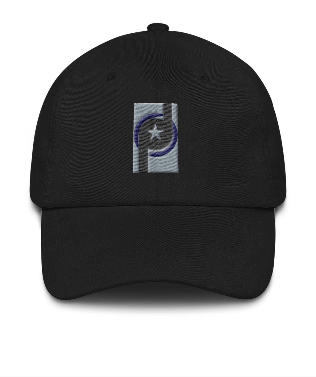 Baseball Hat: PD Logo by ParriaHDesign - SIGHT & SOUND Custom Design