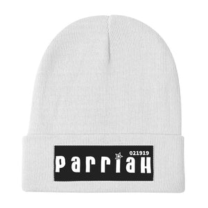 ParriaH Logo-Embroidered Beanie Unisex - SIGHT & SOUND Custom Design