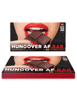 Triple choc 'Hungover AF' box