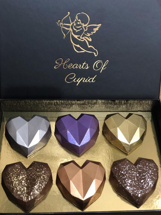 Mini Hearts Box of 6
