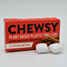 Load image into Gallery viewer, chewsy plant based gum cinnamon