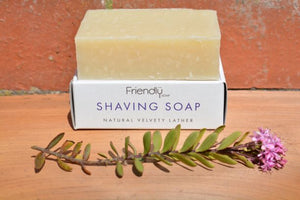 Orange and Lavender Shaving Soap