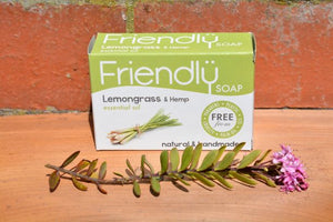Lemongrass & Hemp Hand and Body Soap