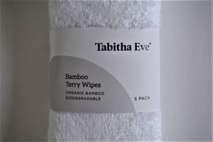 Organic Bamboo wipes 5 pack