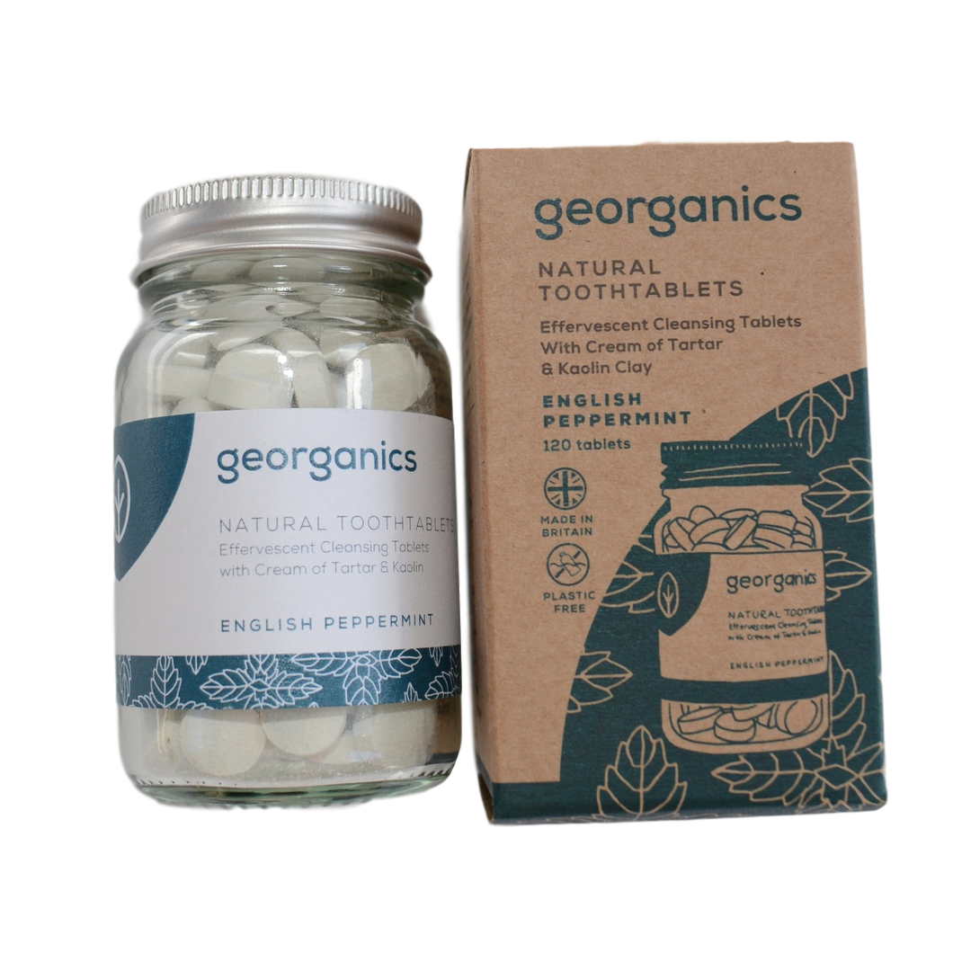 Georganics Natural Tooth Tablets