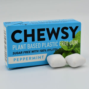Chewsy plant based gum peppermint