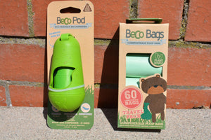 Beco poop / poo bag dispenser with 15 bags