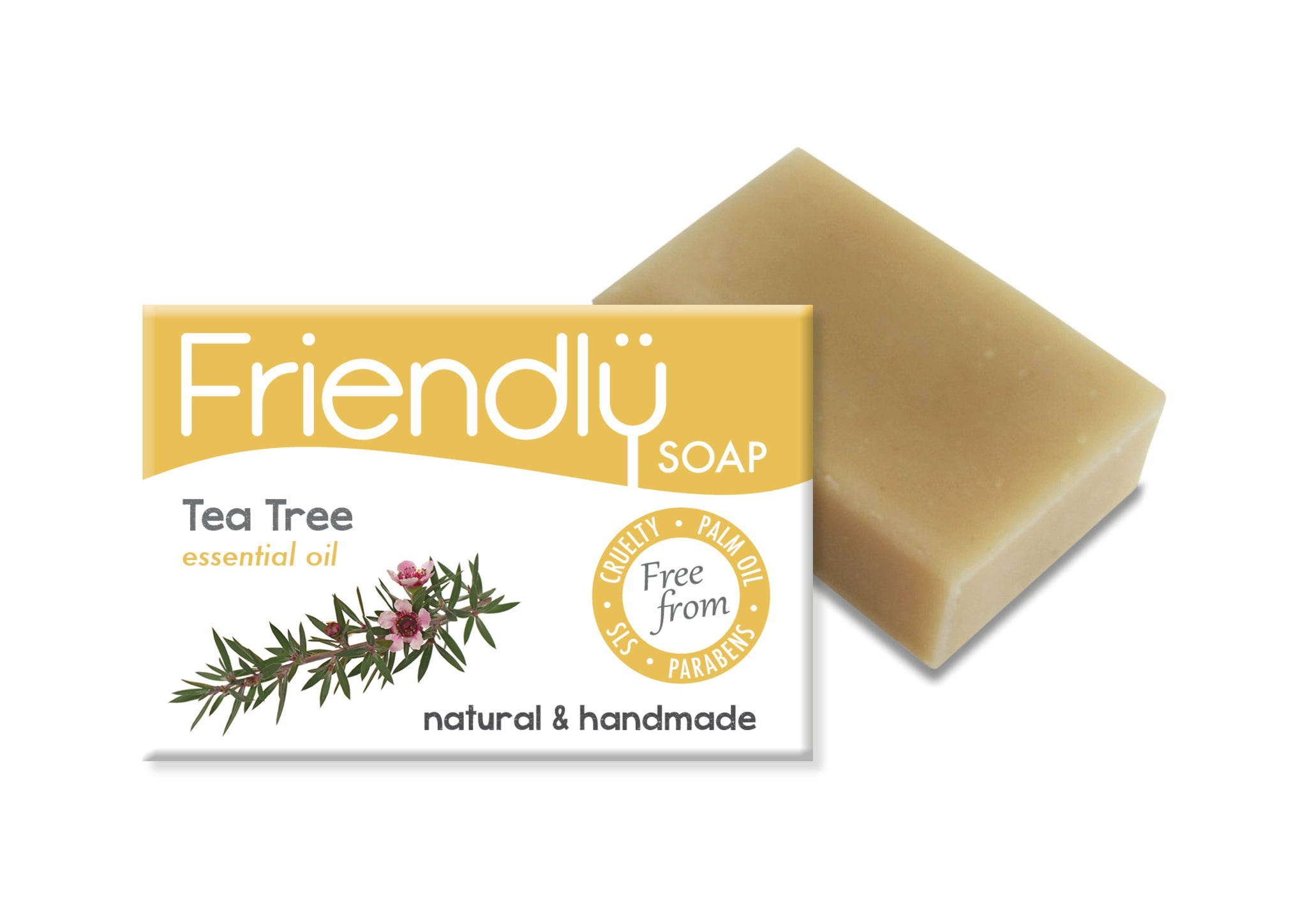Tea Tree & Tumeric Soap Bar - Green Alternatives