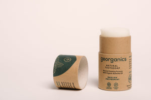 Natural tooth soap, plastic free toothpaste alternative