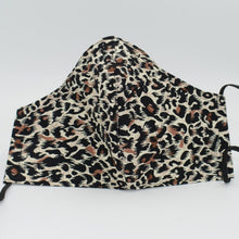 Load image into Gallery viewer, animal print cotton face mask