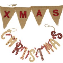 Load image into Gallery viewer, Christmas Bunting / Banners / Garland