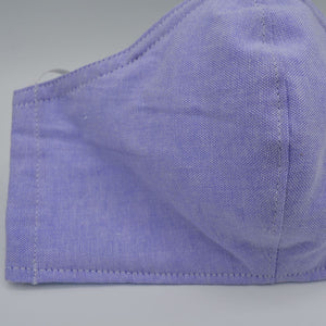 cotton washable face mask blue design