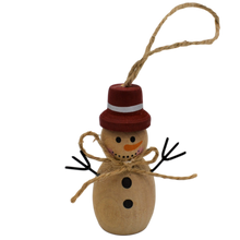 Load image into Gallery viewer, hanging snowman christmas decoration