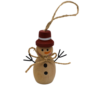 hanging snowman christmas decoration