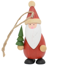 Load image into Gallery viewer, hanging father christmas decoration