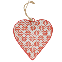 Load image into Gallery viewer, nordic metal hanging christmas decoration heart