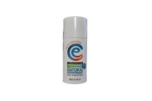 earth conscious peppermint and spearmint deodorant