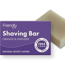 Load image into Gallery viewer, Orange and Lavender Shaving Soap