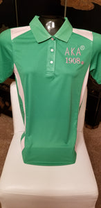 AKA GREEN POLO SHIRT/SPECIAL DISCOUNT PRICE!! 30% PLUS