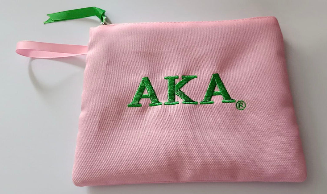 AKA PINK COSMETIC BAG/SPECIAL DISCOUNT PRICE !!  40%