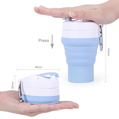 Customised Portable Travel  Telescopic Coffee Cup ,  corporate gifts