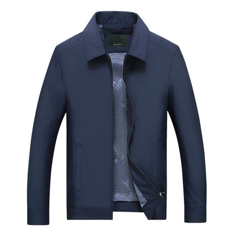 Customised Spring and Autumn Middle-Aged  Men's Jacket ,  corporate gifts