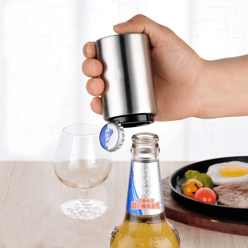 Customised Stainless Steel Bottle Opener Bar Restaurant Utensils ,  corporate gifts